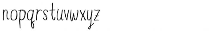 Blue Goblet Drawn Compressed Light Basic Font LOWERCASE