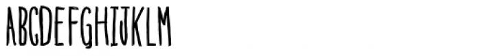 Blue Goblet Drawn Compressed Font UPPERCASE