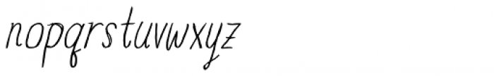Blue Goblet Drawn Condensed Light Italic Font LOWERCASE