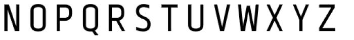 Blue Mono Font UPPERCASE