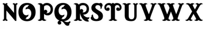 Blue Parrot JNL Font UPPERCASE