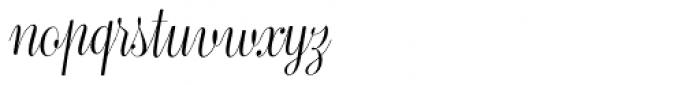 Bluebell Light Font LOWERCASE