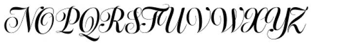 Bluebell Medium Font UPPERCASE