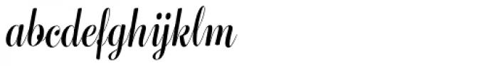 Bluebell Medium Font LOWERCASE