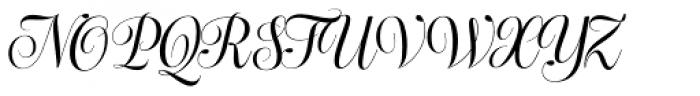 Bluebell Regular Font UPPERCASE