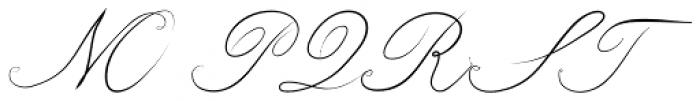 Bluebird Normal Font UPPERCASE