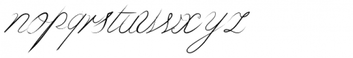 Bluebird Normal Font LOWERCASE