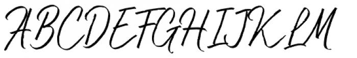 Bluehill Regular Font UPPERCASE