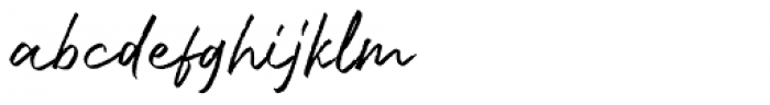Bluehill Regular Font LOWERCASE