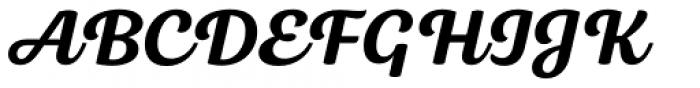 Bluestar Medium Italic Font UPPERCASE