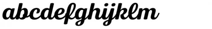 Bluestar Medium Italic Font LOWERCASE