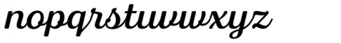 Bluestar Regular Italic Font LOWERCASE
