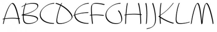 Blumenkind Alternate Calligraphic Font UPPERCASE