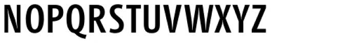 Bluset B XCond Medium Font UPPERCASE