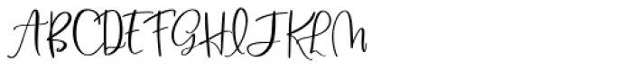 Blush And Bloom Regular Font UPPERCASE