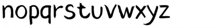 Blushes Font LOWERCASE