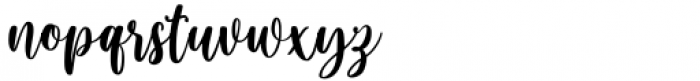 Blushring Regular Font LOWERCASE