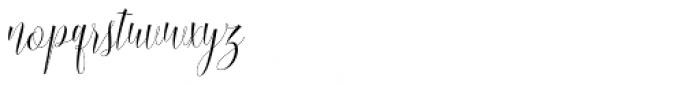Blussafir Regular Font LOWERCASE