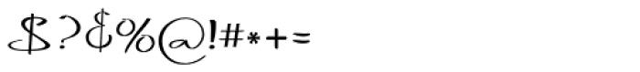 Blythe Spirit Font OTHER CHARS