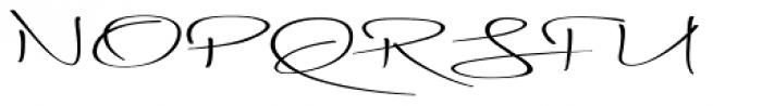 Blythe Spirit Font UPPERCASE