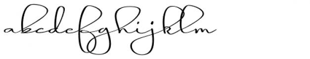 Blythe Spirit Font LOWERCASE