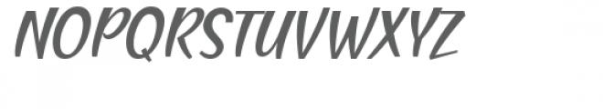 Blending Attraction Italic Font UPPERCASE