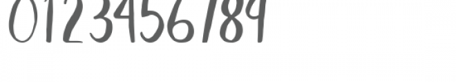 Blush regular Font OTHER CHARS