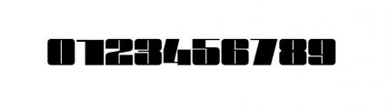 Blockletter Black Caps Font OTHER CHARS