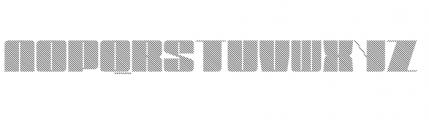 Blockletter Medium Font UPPERCASE