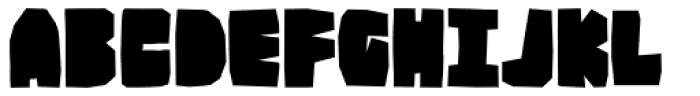 BMF Brohan Black Closed Font UPPERCASE