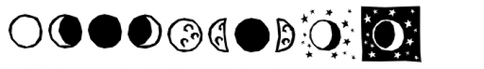 BMF Planets Pi Font OTHER CHARS