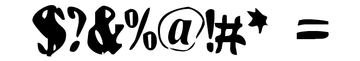 BN-FishEye Font OTHER CHARS