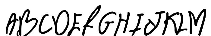 BN FontBoy Font UPPERCASE