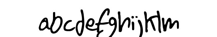 BN FontBoy Font LOWERCASE