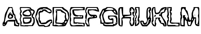 BN-Gillian Font UPPERCASE