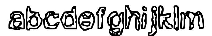 BN-Gillian Font LOWERCASE