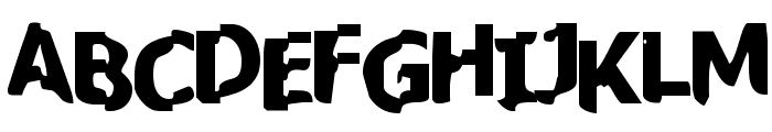 BN-JanSpot Font UPPERCASE