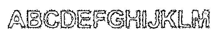 BN Kuktus Font UPPERCASE