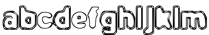 BN-Outer Line Font LOWERCASE