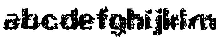 BN-Rock Font LOWERCASE