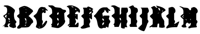 BN-Snake Font UPPERCASE
