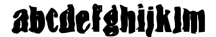 BN-Snake Font LOWERCASE