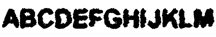 BN-Thug Luv Font UPPERCASE