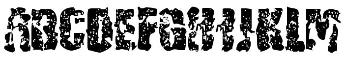 BN-Yair Font UPPERCASE