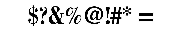 BodoniStd-BoldCondensed Font OTHER CHARS
