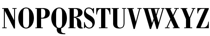 BodoniStd-BoldCondensed Font UPPERCASE