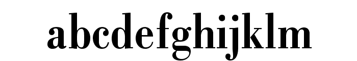 BodoniStd-BoldCondensed Font LOWERCASE