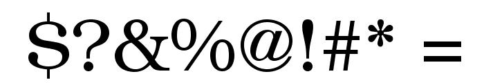 BookmanStd-Light Font OTHER CHARS