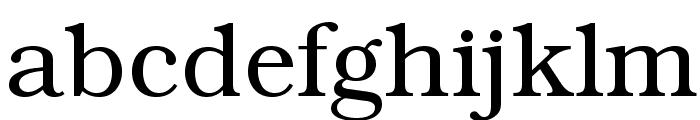 BookmanStd-Light Font LOWERCASE