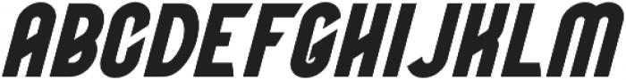 BOATSWAIN Bold Italic otf (700) Font UPPERCASE